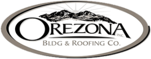 a logo of a roofing contractor in Oregon